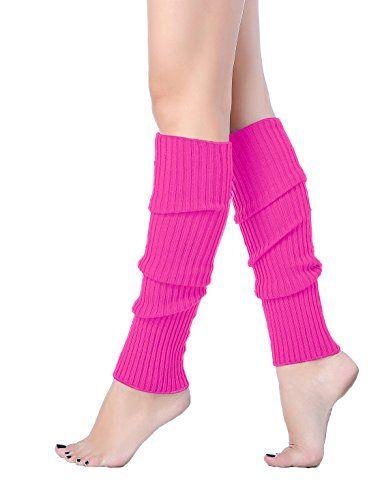 Leg Warmers Dance Wear Socks 1980s Fame Fancy Dress