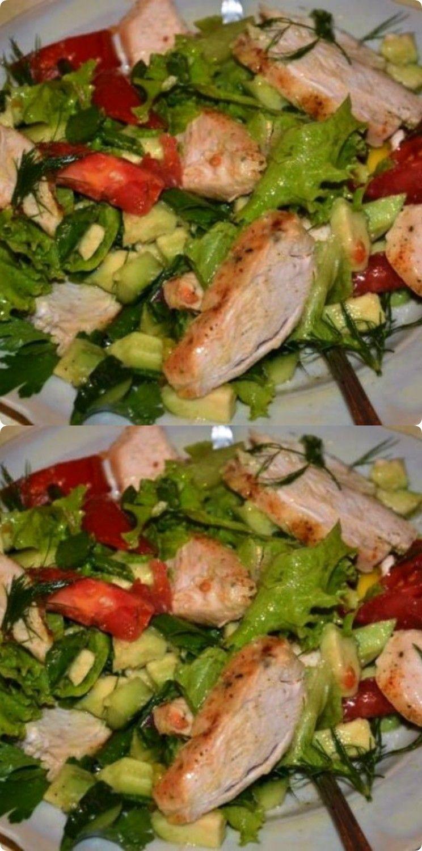 Здоровый питание салат t