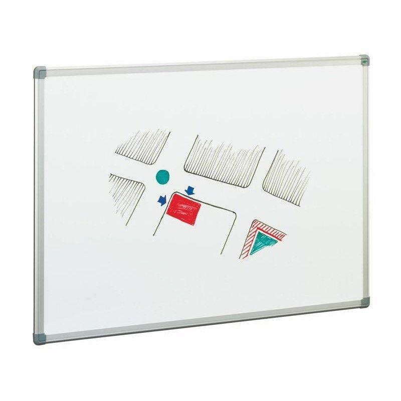Pizarras Blancas estratificadas doble cara, con marco de aluminio y ...
