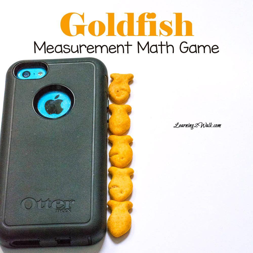 Goldfish Measurement Math Game Math measurement, Math