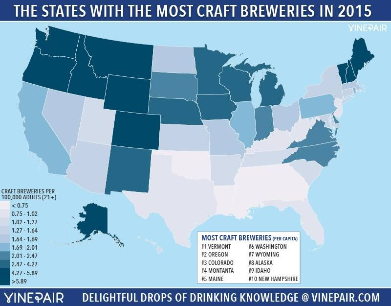Retweeted Brew Studs (@BrewStuds):  Where your state ranks in #craftbeer production courtesy of @VinePair https://t.co/E8RI7gjWLP #beer https://t.co/MX7elIP9DP