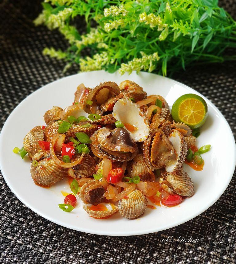 Sambal Chilli Cockles Seafood Recipes Cockles Recipe Sambal
