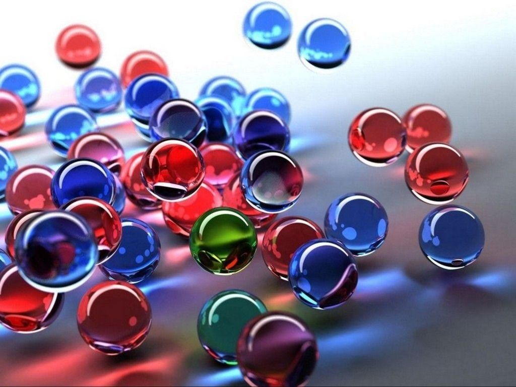 Glass Marbles   3D Glass marbles Free PPT Backgrounds for your ...