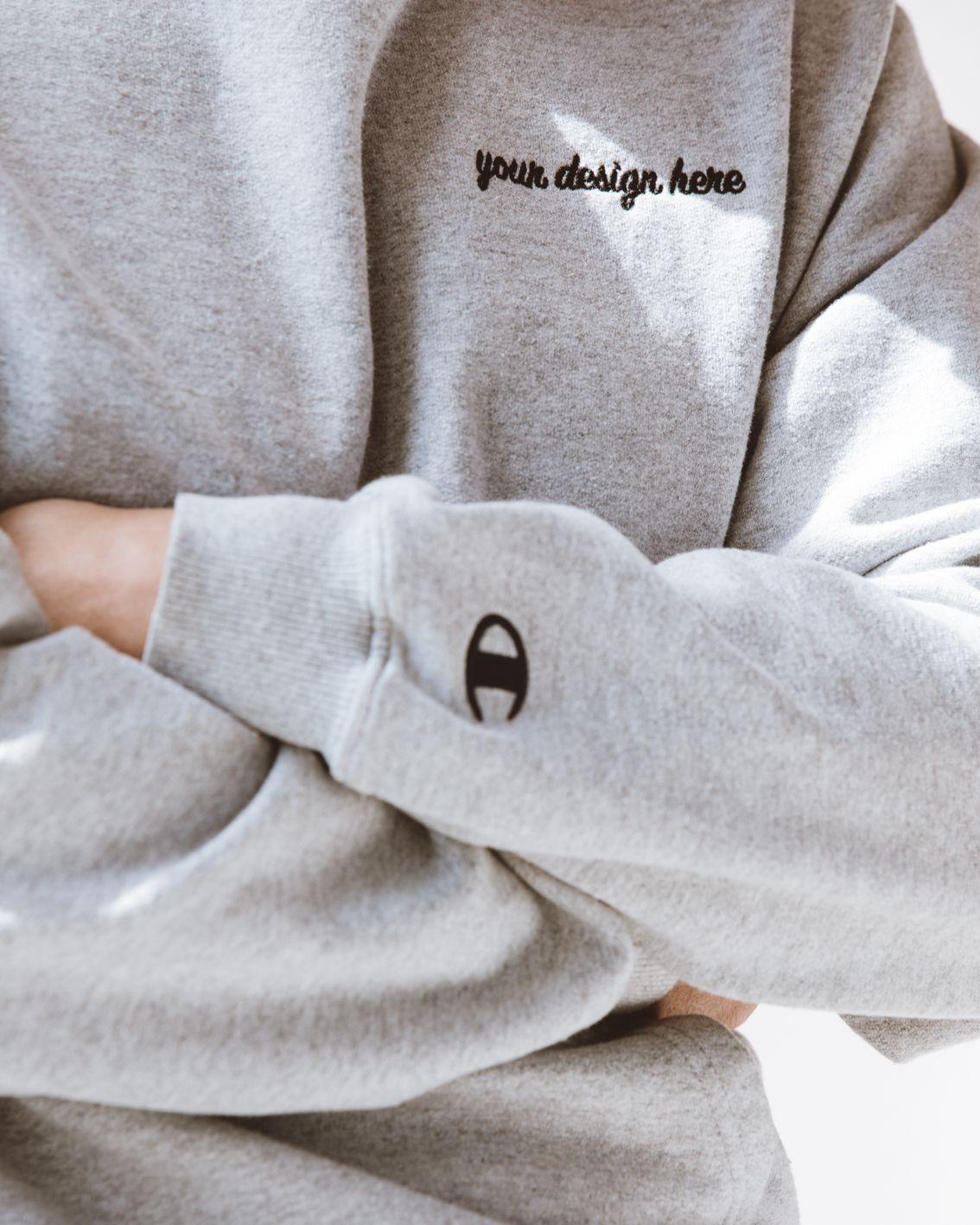 Personalized Men S Champion Sweatshirt Sweatshirts Mens Champion Sweatshirt Champion Sweatshirt [ 1417 x 1134 Pixel ]