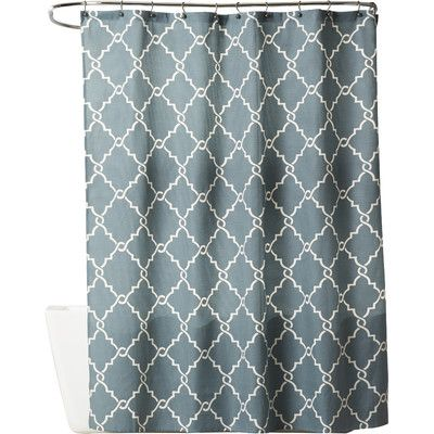 The Twillery Co Somerset Shower Curtain Blue Shower Curtains