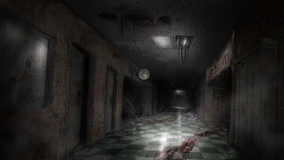 Scary Hallway Backgrounds Google Search Textures For
