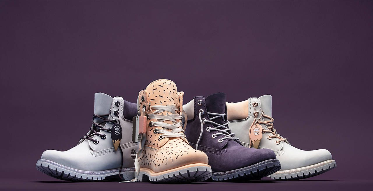 Collection of women's Ice Cream Boots