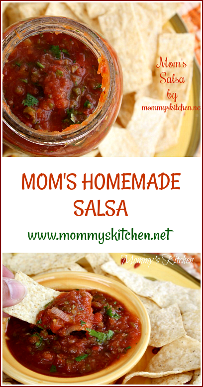 Mommys kitchen is a texas food blog featuring classic country moms homemade salsa forumfinder Images