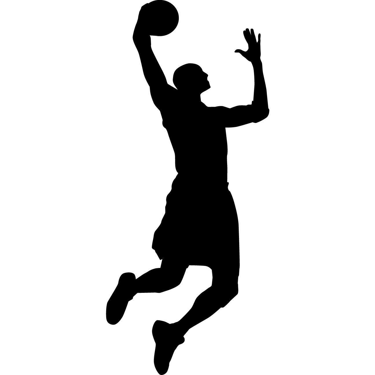 basketball silhouette google zoeken erik pinterest explore basketball wall wall decal sticker and more