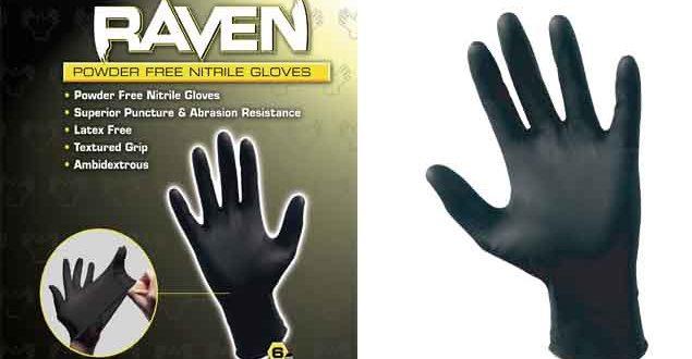 10 Best safety gloves runescape Raven Black Nitrile