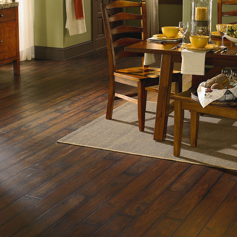 Mannington adura plank floor distinctive ashford walnut for Mannington vinyl flooring