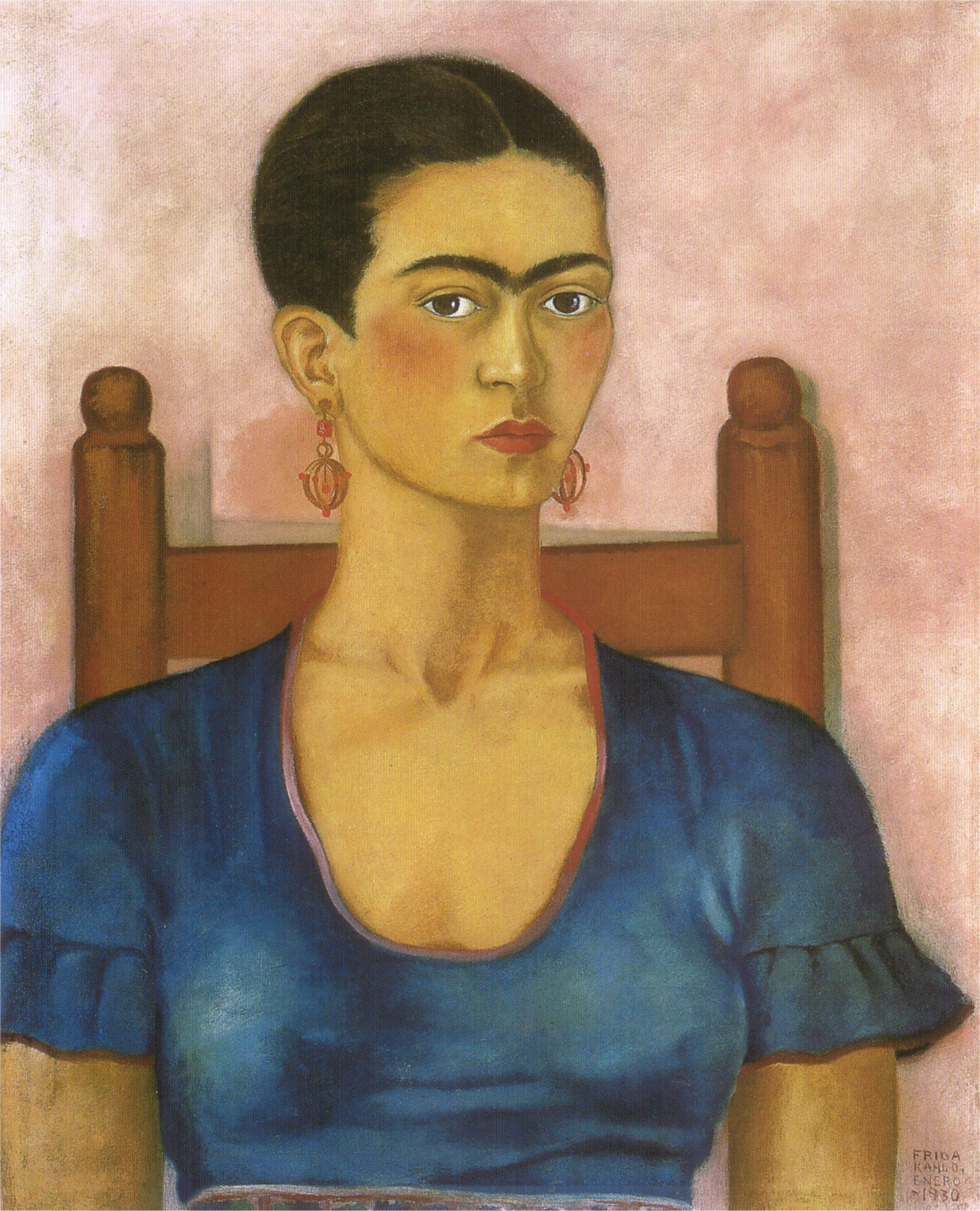 Frida Kahlo sel portrait (1930)