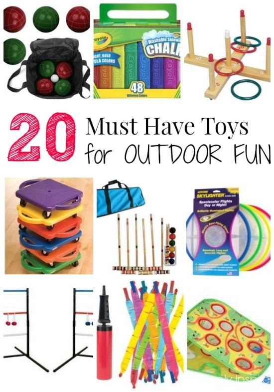 20 Must Have Toys For Outdoor Fun For Kids Outdoor