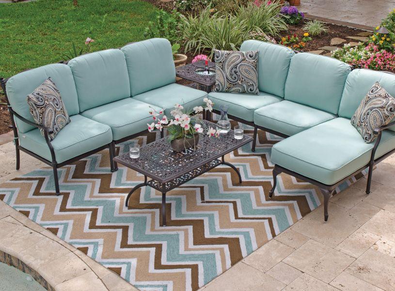 cast aluminum patio furniture outdoor patio furniture chair king backyard store - Garden Furniture King