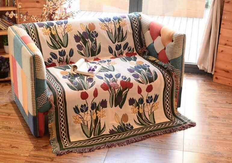 Enjoyable Beautiful Blanket Design Tapestry Sofa Cover Table Cloth Pabps2019 Chair Design Images Pabps2019Com