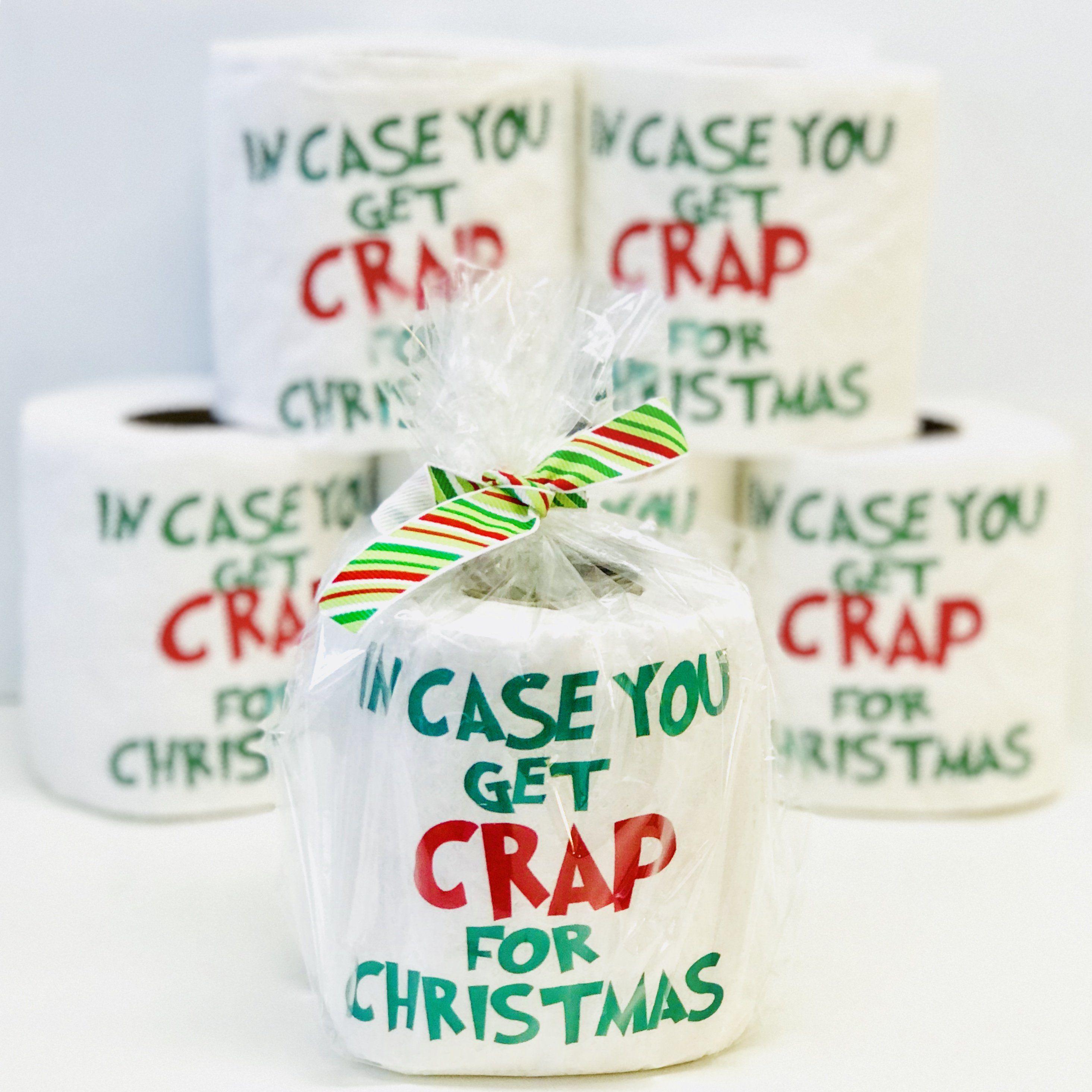 christmas gag gift incase you get crap for christmas gift exchange