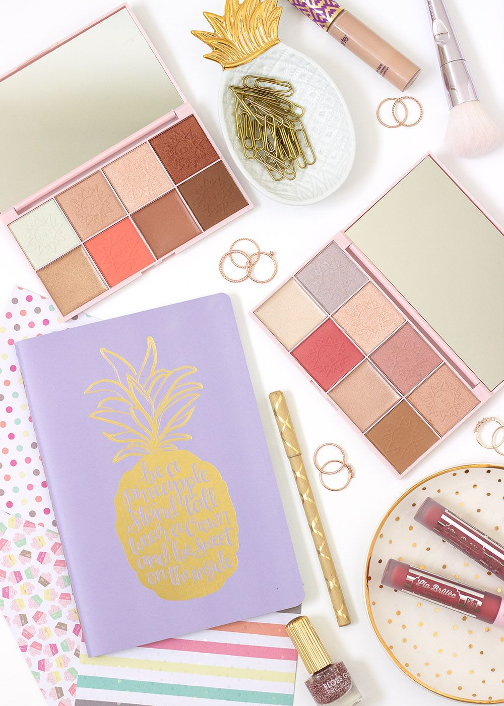 Glow OnTheGo With The Beauty Crop Travel Tea Palettes