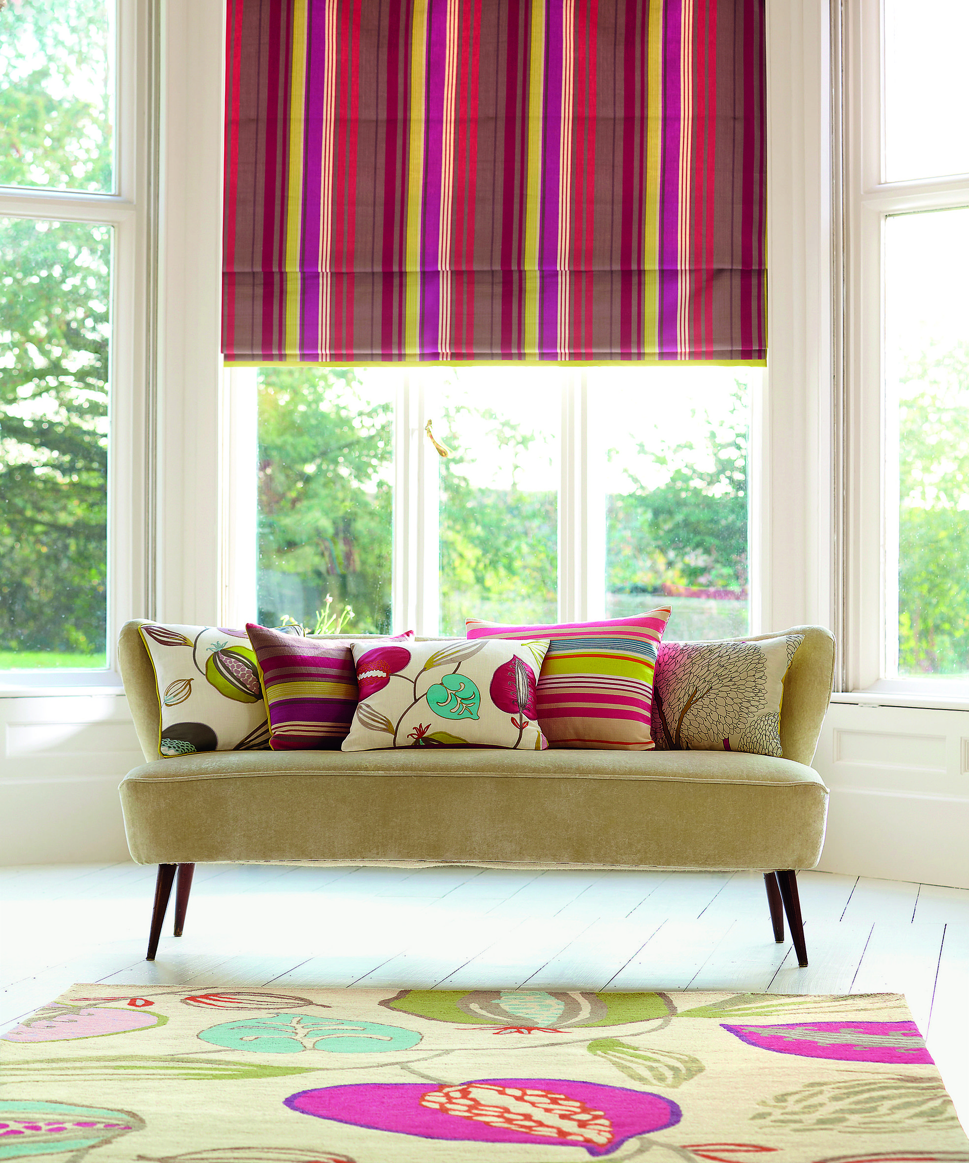 Hot Pink Bedroom Accessories Bedroom Ideas Pinterest Bedroom Decor Ideas Uk Lilac Bedroom Accessories: Love This New Harlequin Rug From Surya!