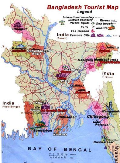 This is the map of Bangladesh | Mapping with everyday life in 2019 ...