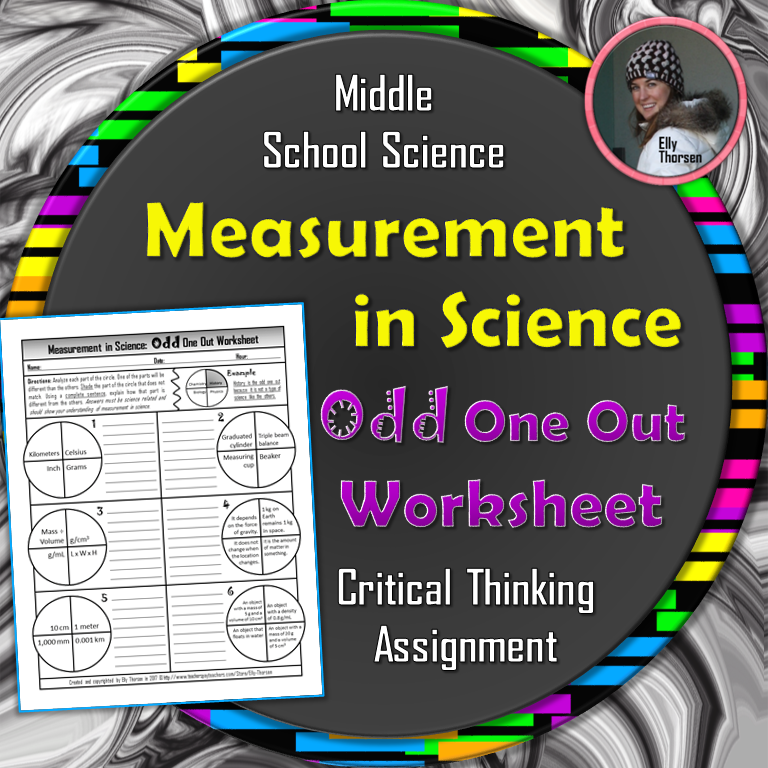 Measurement in Science Odd One Out Worksheet | Worksheets, Metric ...
