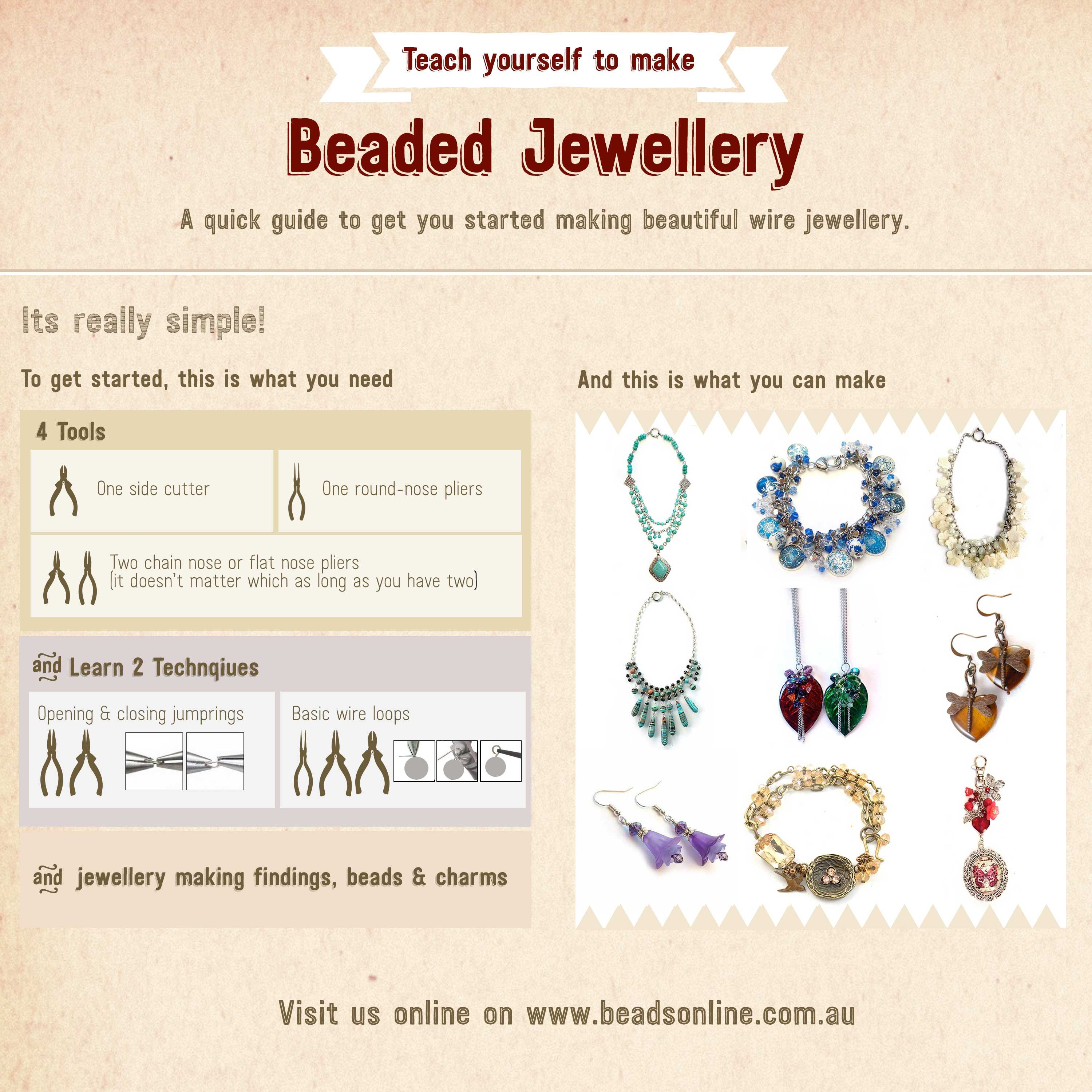 Beading & Jewellery Making Tutorials | Jewellery Making – Beading ...