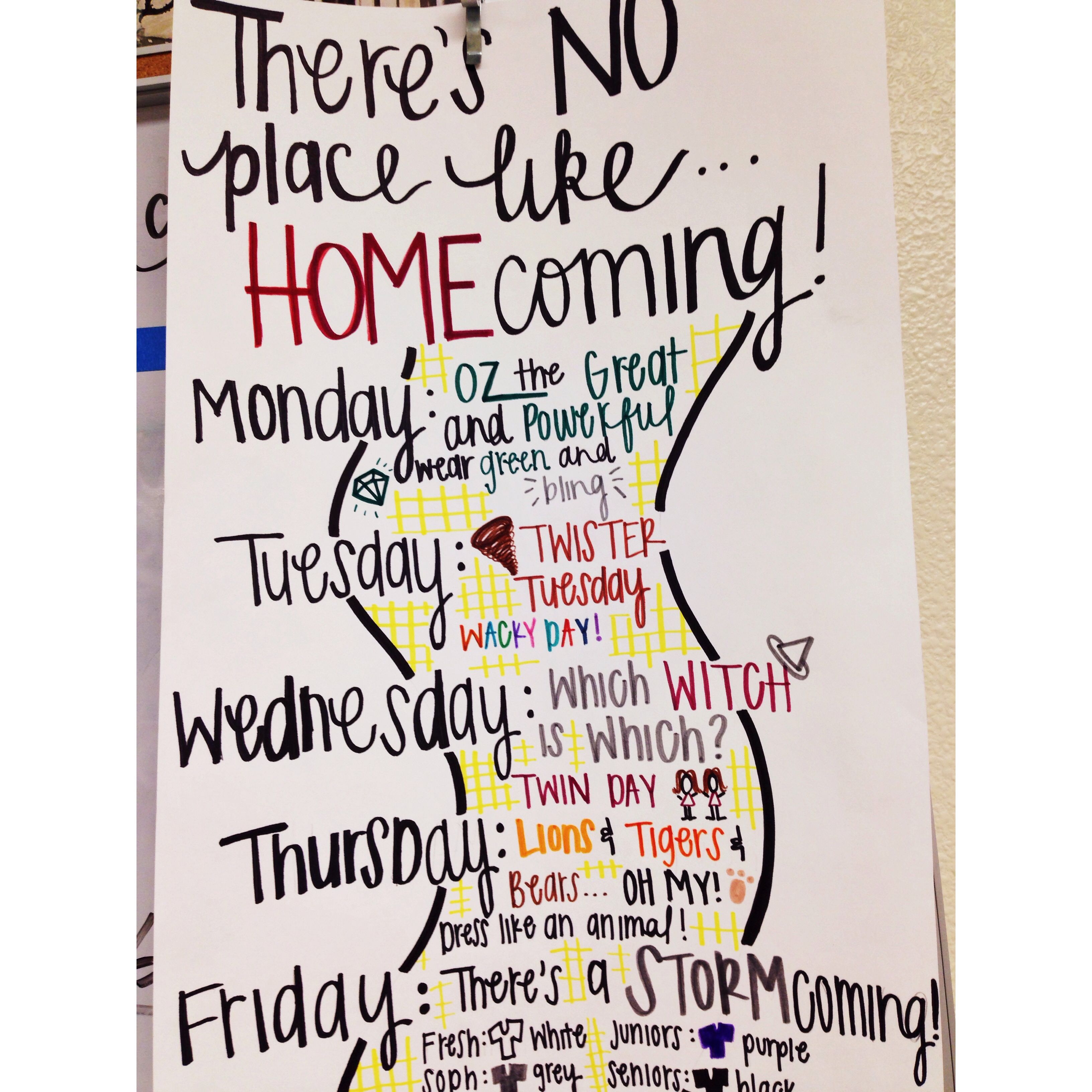 Wizard Of Oz homecoming theme idea | Student Council | Pinterest