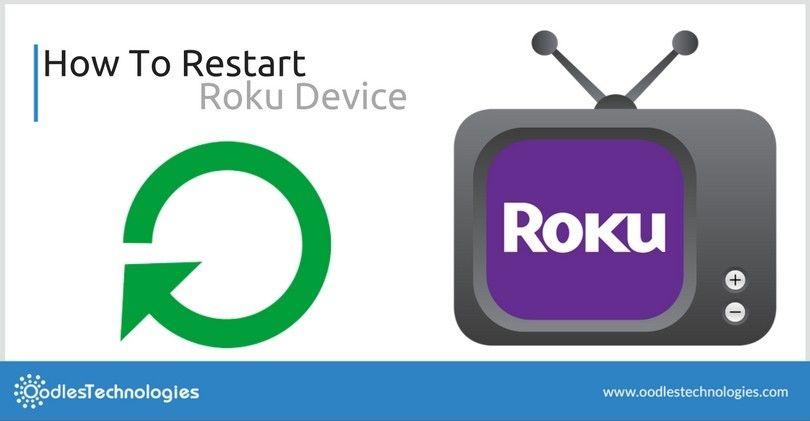 How To Restart Reset A Roku Player Roku Rokuplayer Rokustreamingservices Rokudevice Rokuapps Rokutvapplicationsdevelo Streaming Tv Roku Live Streaming