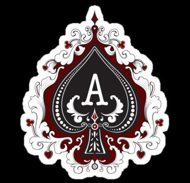 Ace Of Spades Aceeffect Logo Brand By Steve Malcomson Ace Of Spades Tattoo Ace Of Spades Queen Of Spades Tattoo