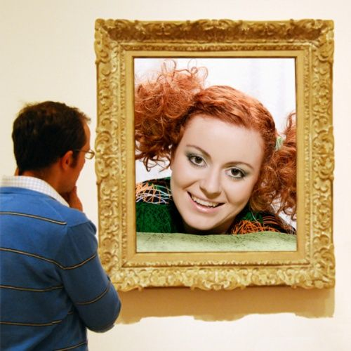 Fancy Museum Photo Frame on ImageChef: http://www.imagechef.com/ic ...