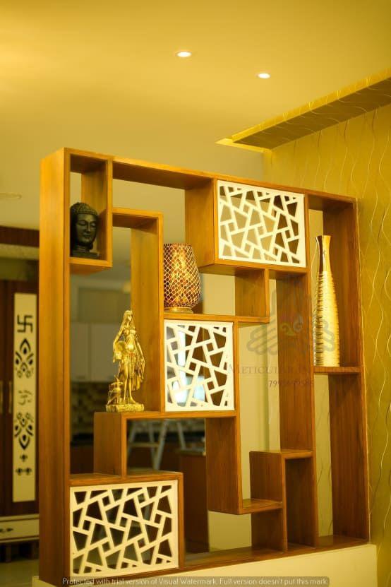 Interior Wooden Living Room Partition Ideas Homyracks