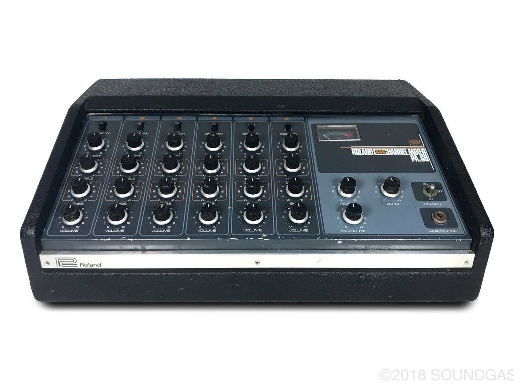 Roland PA 60 Mixer with Spring Reverb | Our Vintage Gear