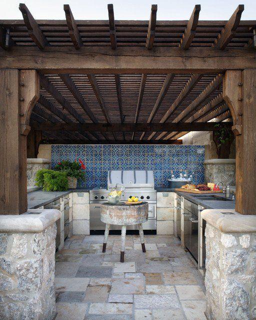 Mediterranean Kitchen Bellevue Wa: 14 Fascinating Outdoor Luxury Kitchen Design Ideas