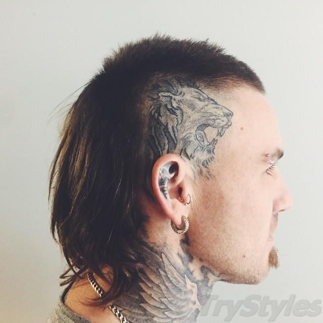 Mullet With Mohawk Men Hairstyles And Haircuts 2196 Jpg 640 640 Mullet Hairstyle Hair Styles Mullet Haircut