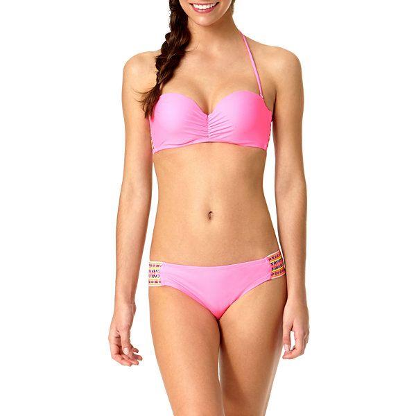 c9916885eb269 Arizona Elastic-Back Bandeau Swim Top or Swim Bottoms - Juniors - JCPenney