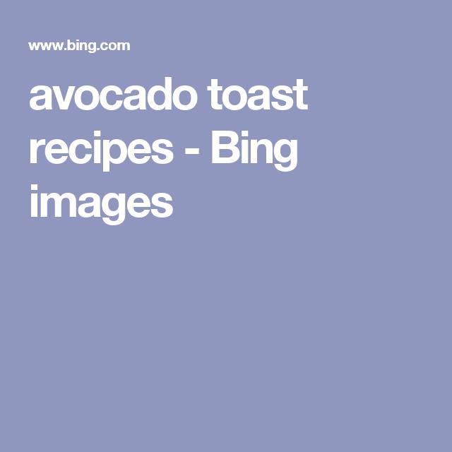 avocado toast recipes - Bing images
