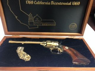 COLT Collectible 1769 CALIFORNIA Bicentenial 1969 IN