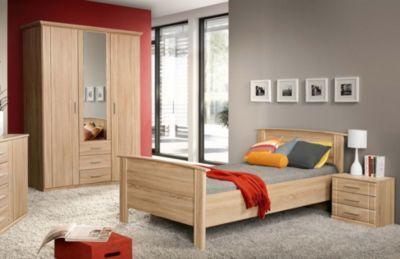 Schlafzimmer Mit Bett 100 X 200 Cm Sonoma Eiche Jetzt Bestellen