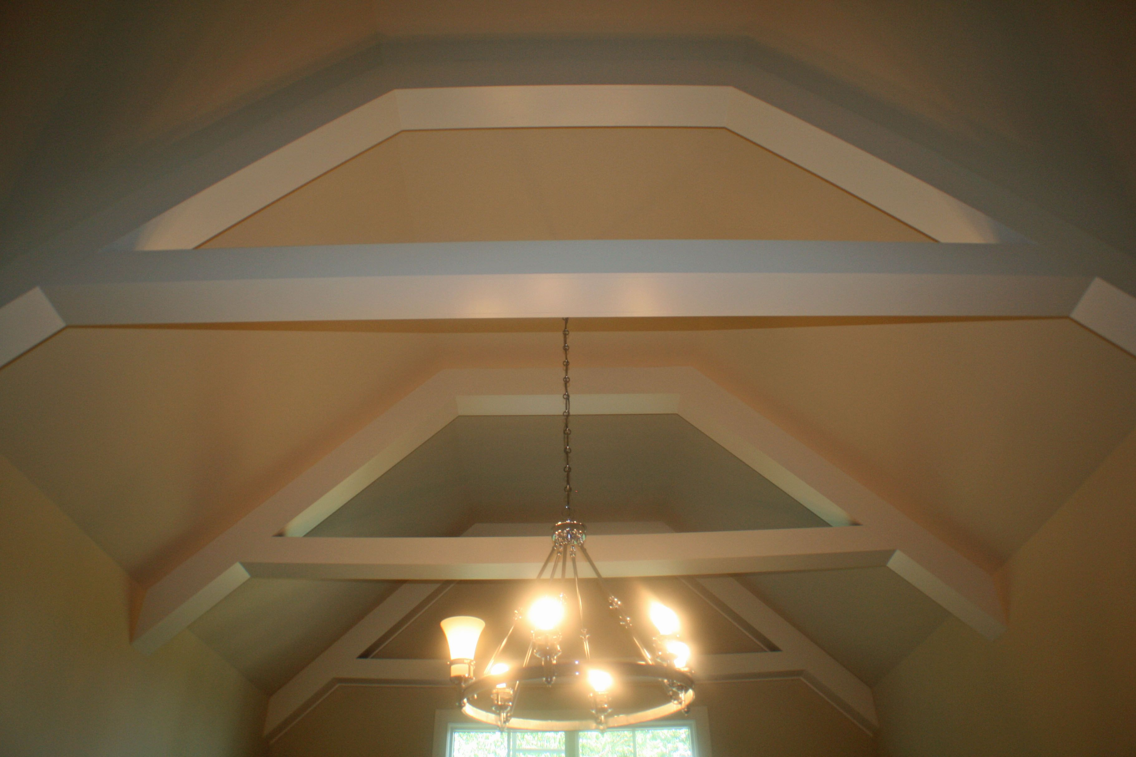 Sloped Hip Tray - Specialty Ceiling Treatments - Pinterest -