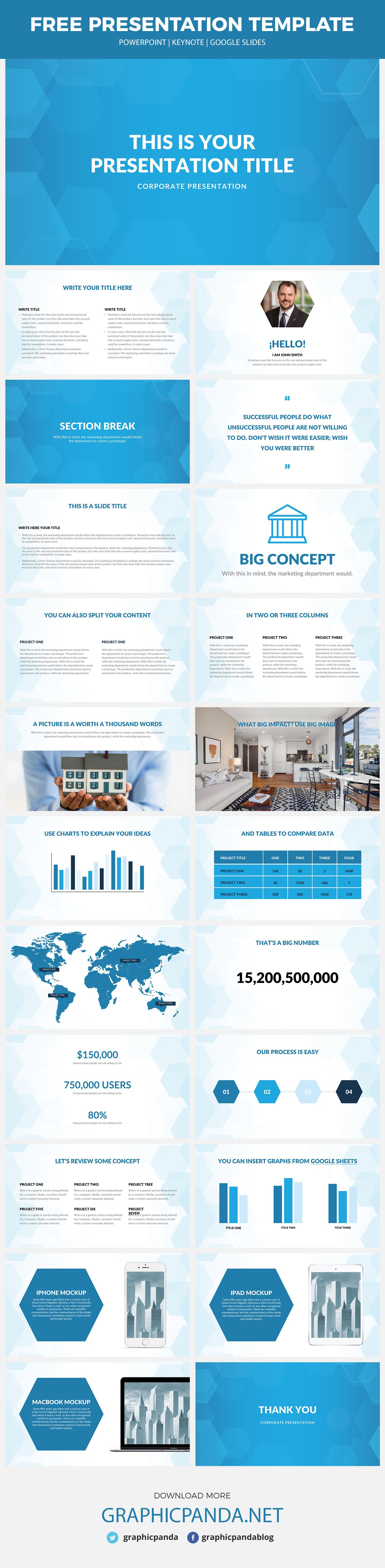 With its blueish background and design the gt real estate free with its blueish background and design the gt real estate free powerpoint template is going toneelgroepblik Gallery