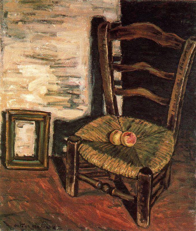 Bodegón de la silla. 1947. Obra de Ortega Muñoz