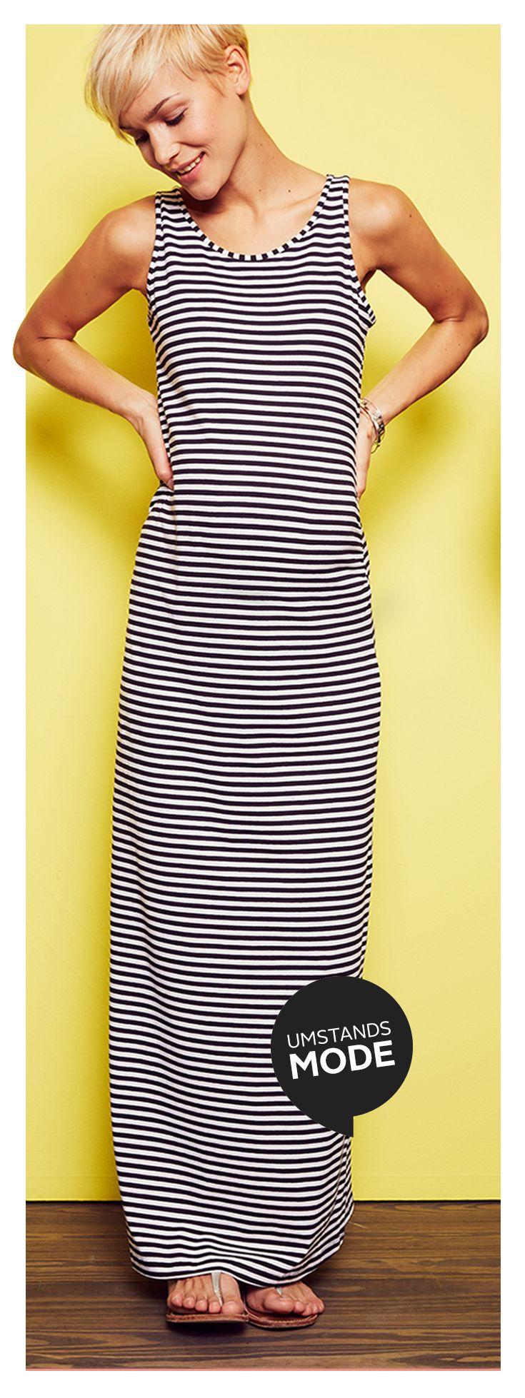 Baby an Bord! In diesem Sommer-Kleid von BELLYBUTTON sind beide