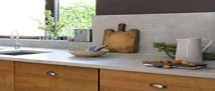 peindre un plan de travail avec un effet pierre naturelle bois stratifi plan de travail. Black Bedroom Furniture Sets. Home Design Ideas