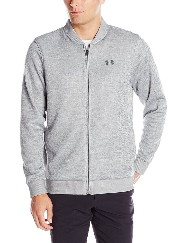 e5a474596 Under Armour Storm Water Resistant Loose Fleece Golf Full Zip Sweater Jacket  L #UnderArmour #sweaterjacket
