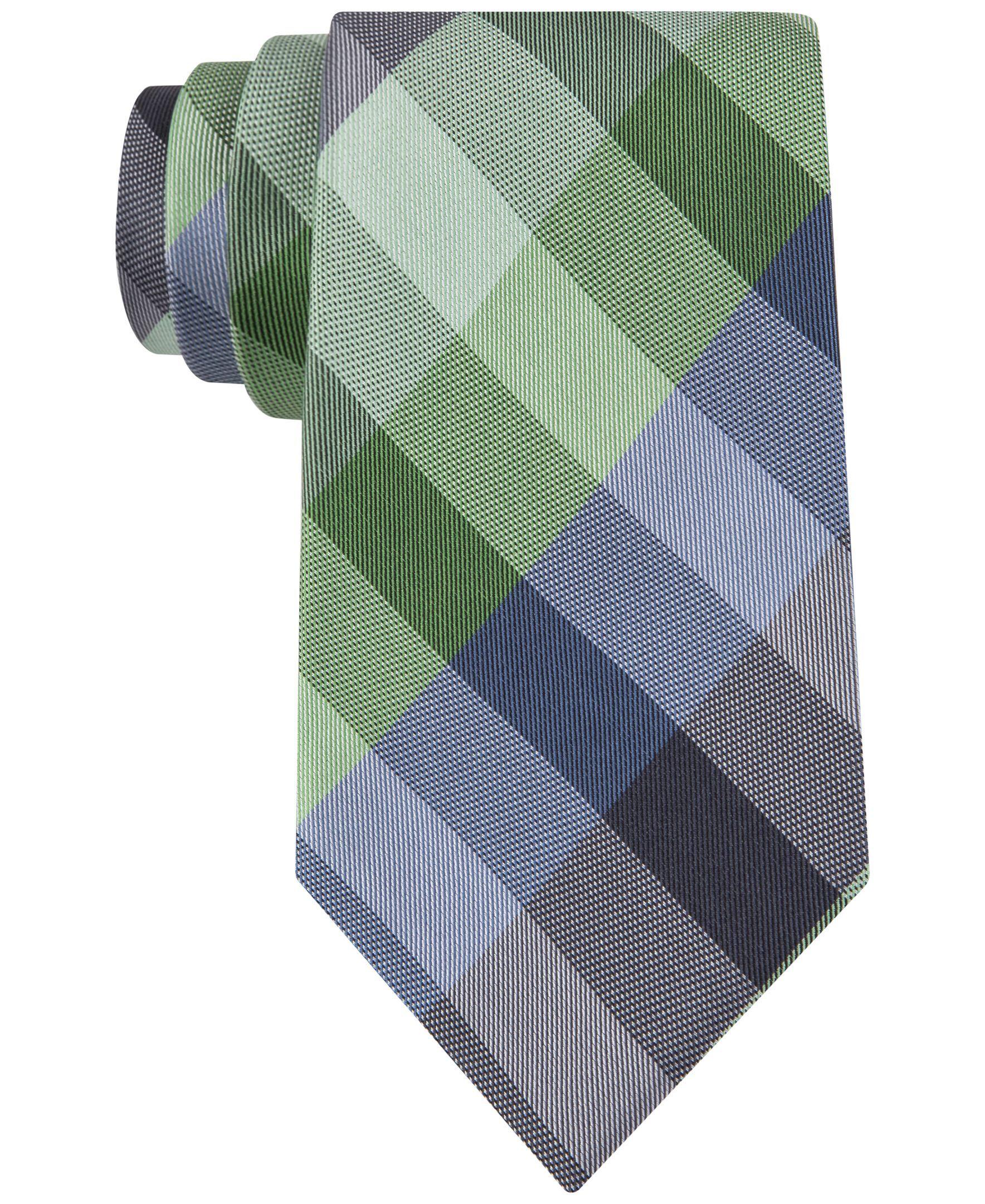 7462dae25f05 Kenneth Cole Reaction Celeste Plaid Tie Tie Online, Plaid, Pocket Squares,  Mens Fashion
