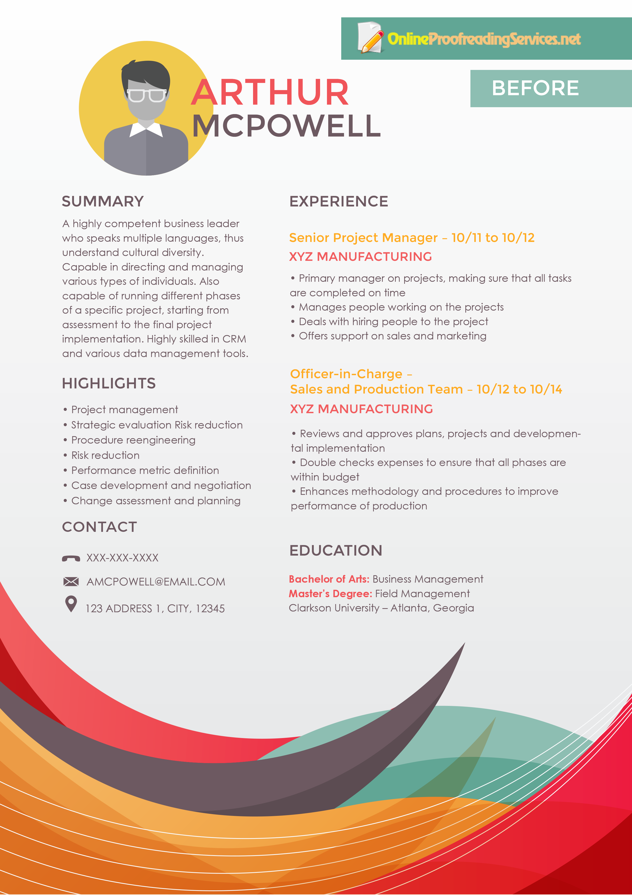 See How A Flawless Resume Looks Like With This Proofreader Resume