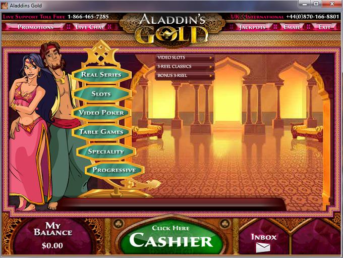 Club Gold Casino Flash