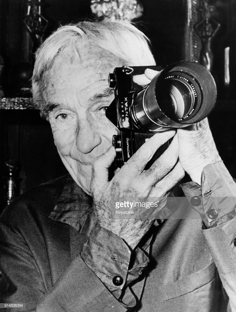 French painter and photographer Jacques Henri Lartigue after being...   Photographer, Painter, Photo