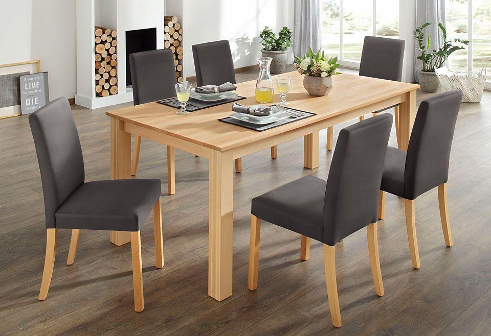 Home affaire Esstischgruppe (7-tlg) Jetzt bestellen unter   - küchentische und stühle