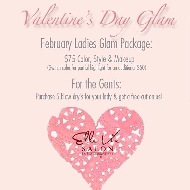 This special is available for the rest of February! Call to lighten up your look today! #ElleVieSalon #Orlandosalon