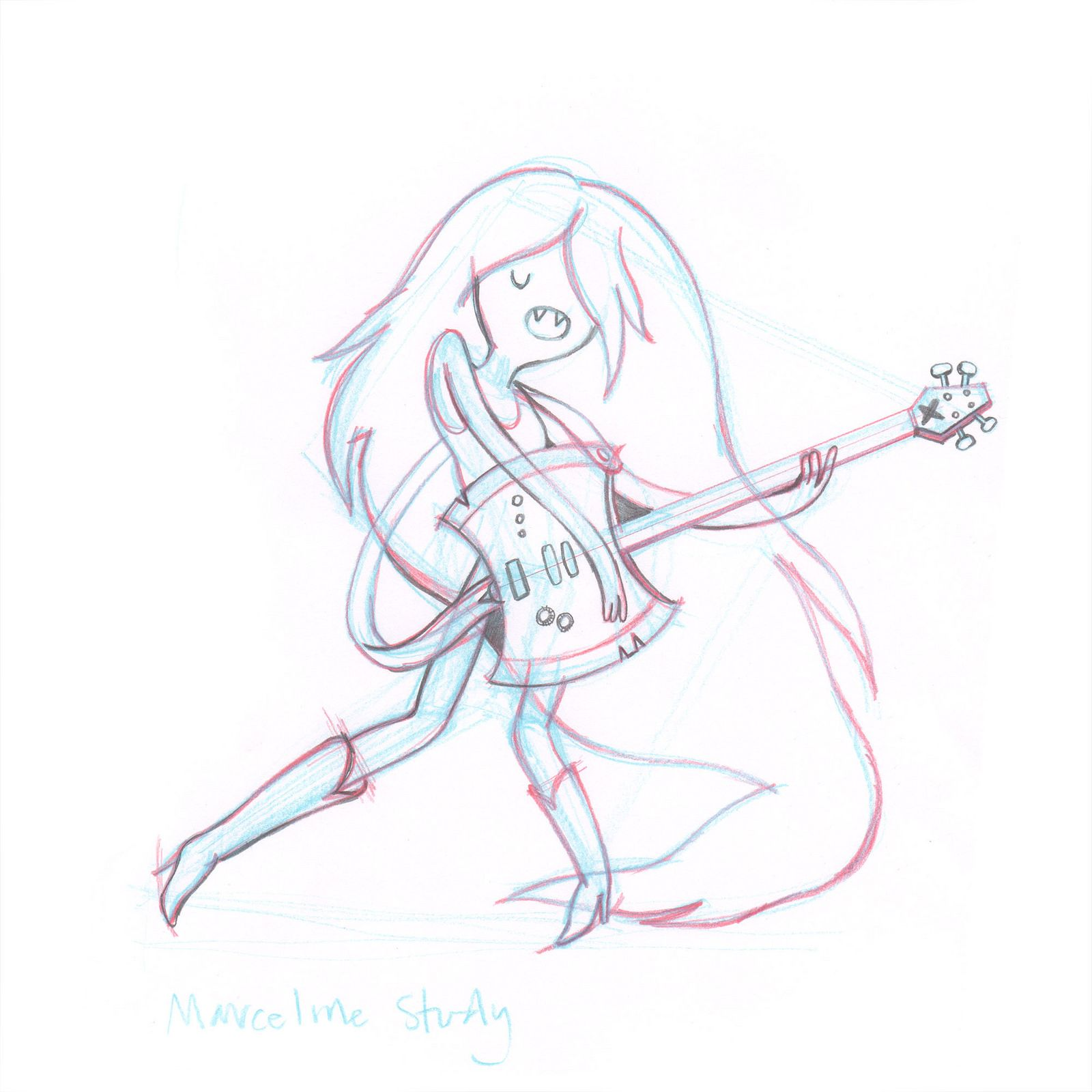 Marceline Sketch Sketches Marceline